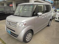 沖縄の中古車 ホンダ N BOX 車両価格 103万円 リ済込 平成28年 5.2万K シルバーM