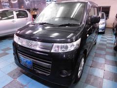 沖縄の中古車 スズキ ワゴンRスティングレー 車両価格 58万円 リ済込 平成22年 6.1万K ブラックM