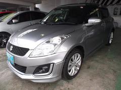 沖縄の中古車 スズキ スイフト 車両価格 95万円 リ済込 平成26年 3.3万K グレーM