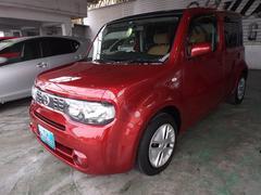 沖縄の中古車 日産 キューブ 車両価格 72万円 リ済込 平成25年 6.5万K レッドM