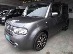 沖縄の中古車 日産 キューブ 車両価格 57万円 リ済込 平成24年 6.2万K グレーM