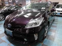 沖縄の中古車 トヨタ プリウス 車両価格 108万円 リ済込 平成24年 6.9万K パープルM