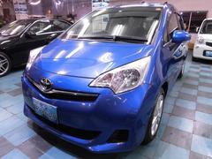 沖縄の中古車 トヨタ ラクティス 車両価格 73万円 リ済込 平成24年 3.9万K ブルーM