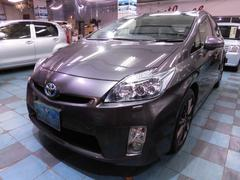 沖縄の中古車 トヨタ プリウス 車両価格 105万円 リ済込 平成23年 7.9万K グレーM