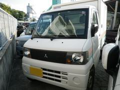 沖縄の中古車 三菱 ミニキャブトラック 車両価格 21万円 リ済込 平成17年 14.8万K ホワイト