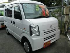 沖縄の中古車 マツダ スクラム 車両価格 21万円 リ済込 平成22年 22.8万K スペリアホワイト