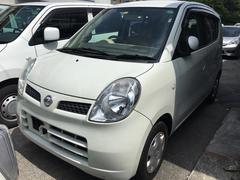 沖縄の中古車 日産 モコ 車両価格 19万円 リ済込 平成20年 13.7万K スノーパールホワイト