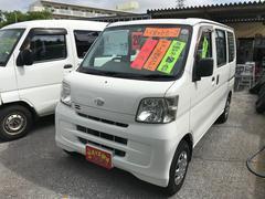 沖縄の中古車 ダイハツ ハイゼットカーゴ 車両価格 20万円 リ済込 平成20年 22.6万K ホワイト