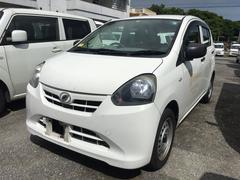 沖縄の中古車 ダイハツ ミライース 車両価格 19万円 リ済込 平成24年 17.5万K 白