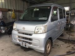沖縄の中古車 ダイハツ ハイゼットカーゴ 車両価格 23万円 リ済込 平成20年 18.4万K シルバー