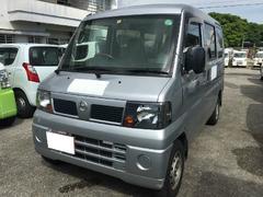 沖縄の中古車 日産 クリッパーバン 車両価格 25万円 リ済込 平成23年 13.5万K シルバー