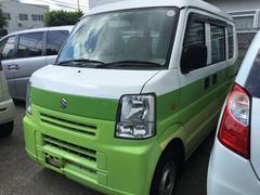沖縄の中古車 スズキ エブリイ 車両価格 21万円 リ済込 平成21年 12.4万K グリーンII