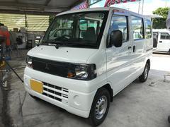 沖縄の中古車 三菱 ミニキャブバン 車両価格 24万円 リ済込 平成22年 22.3万K ホワイト