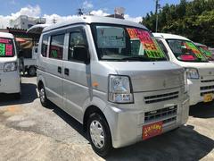 沖縄の中古車 スズキ エブリイ 車両価格 29万円 リ済込 平成23年 13.7万K シルバー