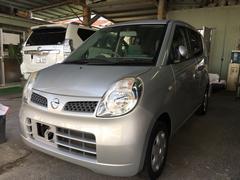 沖縄の中古車 日産 モコ 車両価格 19万円 リ済込 平成23年 8.2万K シルバー
