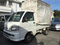 沖縄の中古車 ダイハツ ハイゼットトラック 車両価格 25万円 リ済込 平成14年 15.1万K ホワイト