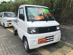 沖縄の中古車 三菱 ミニキャブトラック 車両価格 20万円 リ済込 平成15年 20.6万K ホワイト