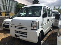 沖縄の中古車 スズキ エブリイ 車両価格 16万円 リ済込 平成19年 14.5万K ホワイト