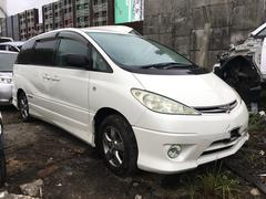 沖縄の中古車 トヨタ エスティマT 車両価格 18万円 リ済込 平成17年 19.0万K ホワイト