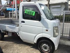 沖縄の中古車 スズキ キャリイトラック 車両価格 21万円 リ済別 平成17年 6.7万K ホワイト