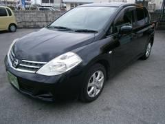 沖縄の中古車 日産 ティーダ 車両価格 39万円 リ済別 平成21年 8.7万K ブラック