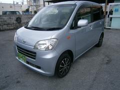 沖縄の中古車 ダイハツ タントエグゼ 車両価格 49万円 リ済別 平成22年 8.1万K シルバー