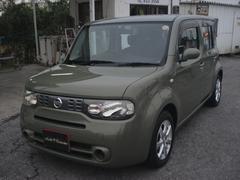 沖縄の中古車 日産 キューブ 車両価格 35万円 リ済別 平成21年 10.6万K グリーン