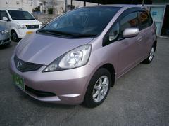 沖縄の中古車 ホンダ フィット 車両価格 39万円 リ済別 平成20年 8.0万K ピンク