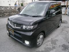 沖縄の中古車 ホンダ ゼストスパーク 車両価格 55万円 リ済別 平成21年 8.1万K ブラック