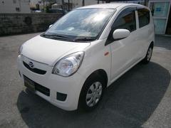 沖縄の中古車 ダイハツ ミラ 車両価格 35万円 リ済別 平成24年 10.5万K ホワイト