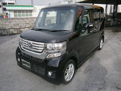 沖縄の中古車 ホンダ N BOX 車両価格 98万円 リ済別 平成24年 6.8万K ブラック