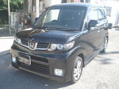 沖縄の中古車 ホンダ ゼストスパーク 車両価格 43万円 リ済別 平成21年 12.2万K ブラック