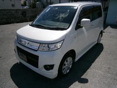 沖縄の中古車 スズキ ワゴンRスティングレー 車両価格 49万円 リ済別 平成21年 8.8万K パール