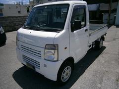 沖縄の中古車 スズキ キャリイトラック 車両価格 39万円 リ済別 平成15年 6.5万K ホワイト
