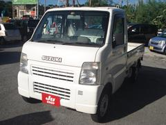 沖縄の中古車 スズキ キャリイトラック 車両価格 37万円 リ済別 平成17年 走不明 ホワイト