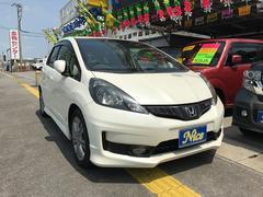 沖縄の中古車 ホンダ フィット 車両価格 62万円 リ済込 平成23年 9.5万K パール