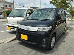 沖縄の中古車 マツダ AZワゴンカスタムスタイル 車両価格 59万円 リ済込 平成23年 7.7万K ブラック