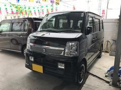 沖縄の中古車 スズキ エブリイワゴン 車両価格 59万円 リ済込 平成20年 8.6万K ブラック