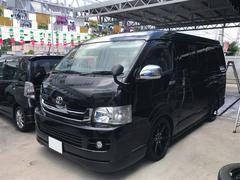 沖縄の中古車 トヨタ ハイエースワゴン 車両価格 209万円 リ済込 平成21年 17.2万K ブラック
