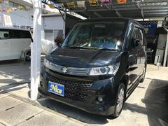 沖縄の中古車 スズキ パレットSW 車両価格 75万円 リ済込 平成24年 7.6万K ブルーイッシュブラックパール3