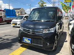 沖縄の中古車 日産 ルークス 車両価格 57万円 リ済込 平成22年 9.4万K ブルーイッシュブラックP