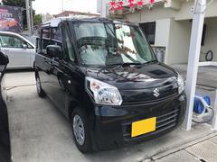 沖縄の中古車 スズキ スペーシア 車両価格 74万円 リ済込 平成25年 5.7万K ブラック