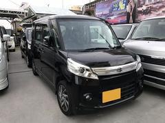 沖縄の中古車 スズキ スペーシアカスタム 車両価格 99万円 リ済込 平成26年 6.1万K ブラック
