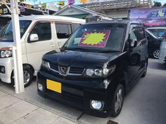 沖縄の中古車 ホンダ ゼストスパーク 車両価格 49万円 リ済込 平成21年 9.7万K ブラック