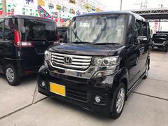 沖縄の中古車 ホンダ N BOXカスタム 車両価格 88万円 リ済込 平成24年 7.6万K プレミアムゴールドパープルパール