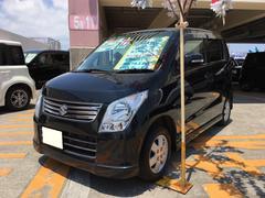 沖縄の中古車 スズキ ワゴンR 車両価格 45万円 リ済込 平成23年 8.5万K ブルーイッシュブラックパール3