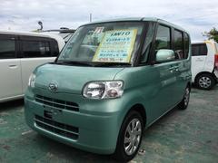 沖縄の中古車 ダイハツ タント 車両価格 69万円 リ済込 平成23年 7.2万K マスカットグリーンメタリック