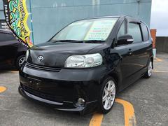 沖縄の中古車 トヨタ ポルテ 車両価格 25万円 リ済込 平成19年 12.5万K ブラックマイカ