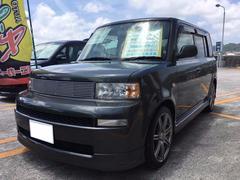 沖縄の中古車 トヨタ bB 車両価格 35万円 リ済込 平成16年 9.7万K ダークグレイッシュオリーブメタリック