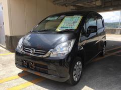 沖縄の中古車 ダイハツ ムーヴ 車両価格 55万円 リ済込 平成22年 6.2万K ブラックマイカ